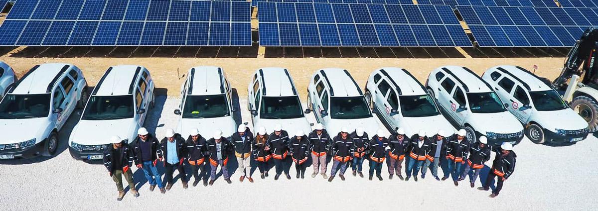 Tekno Ray Solar 10 Farklı ilde 14 Farklı GES Projesinde